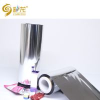 China High Gloss Metallized PET film for Glitters