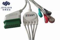 Joysjoin Nihon Kohden defibrillator TEC-5521/5531 5lead ECG Cable