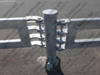 Traffic Folding Barrier Roadway guardrail