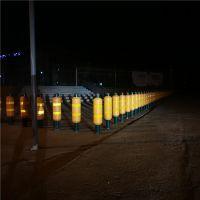 Anti-collision Warning Post with Solar luminescence