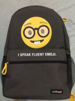 Outdoor Daily Backpack Funny Expression softbag