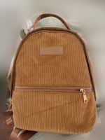 2019 fashion retro style corduroy backpack soft daily adult backpack