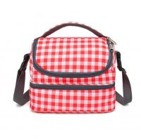 TIRAN fashion style match color shoulder tote cooler bag