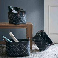 Felt Woven Organizer,Storage Basket,Laundry storage basket