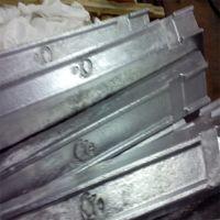High Grade Low Price Pure Zinc alloy ingot Zamak 5 Zamak 3 Zinc alloy ingot Zamak 3# 5# 8#  with factory   for sale