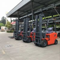 3.0 tons electric forklift trucks with CE