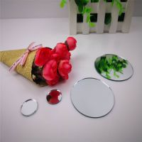 makeup mirror /cosmetic mirror / small cutting mirror /round small mirror