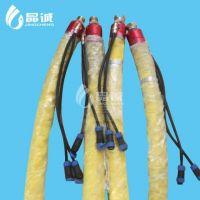 Waterproof asphalt pipe, hose, electric heating hose