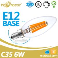 Worbest 2w 4w 6w e14/12 led light bulb for home lighting candle light bulb SMD indoor bulb