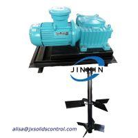 horizontal type mud agitator mud mixer