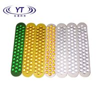 China Supplier reflective cat eye 43 Glass Beads Reflector