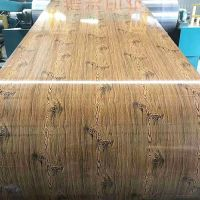 Wood Painting Galvanized Steel