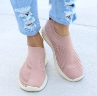 2019 Women Sneakers Knit Sock Running Shoes Woman Sport Shoes Mesh Breathable Trainers Outdoors