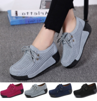 Women Casual Sport Shoes Fashion Female Shake Shoes Ladies Comfortable Hollow-out Breathable Leisure Loafers
