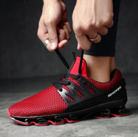 Men's Fashion Breathable Running Sport Shoes Leisure Lace Up Shoes