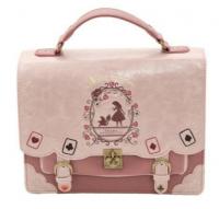 Lolita Style Women Alice in Wonderland Designer Embroidery Handbag Fashion Girls Sweet Messenger Bag School Backpacks Sacos De Mulheres