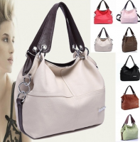 Euramerican Spliced Messenger Shoulder Bag Women Handbag