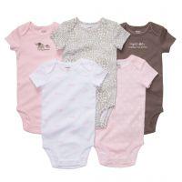 Carter's original newborn bodysuits cotton baby girls boys clothes