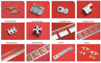 Relay spare parts and components, moulds