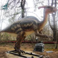 LORISO2030 Jurassic Park Life Size Animatronic Dinosaur Parasaurolophus