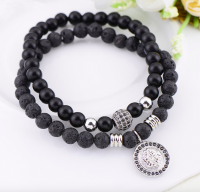 Lion Sign Beads Bracelet