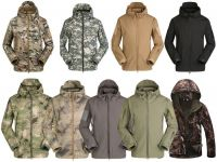 Men Shark Skin Soft Shell Outdoor Tactical Military Jackets Army Clothing Jacket