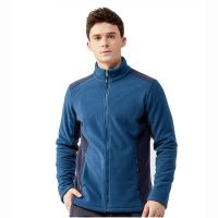 2019 Hot Sell Breathable Stand Collar Casual Sport Fleece Jacket