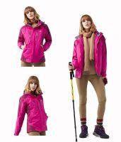 Fashion Womens Waterproof Softshell Jackets