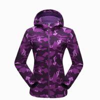 Camo Outdoor Cheaper Winter Waterproof Hunting Women Softshell Jacket