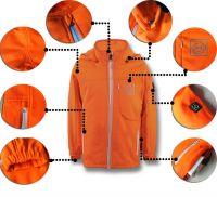 Latest Design Kids Winter Heated Jacket Waterproof Warm Outerwear