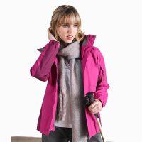 Hot Sale Women Winter 100% Polyester Thick Waterproof Outdoor Sports Jacket