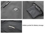 Self Heating Jacket For Cold Winter Cotton Added