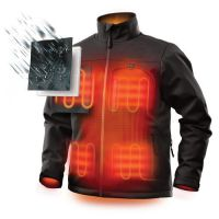 Cheap 4XL Men's Self Warming Electric Battery Powered Heated Jackets Liner Clothes For Motorcycle