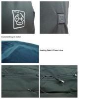 2018 New Product Battery Heated Coat Heated Jacket Clothing