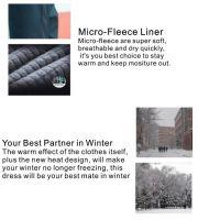2018 Latest Design Best Mens Waterproof Battery Heated Jacket For Winter