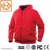 Warm USB Battery Heated Hoodie For Outerwear