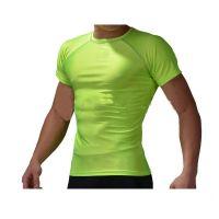 Hot sales short sleeve compression sports running custom t shirt