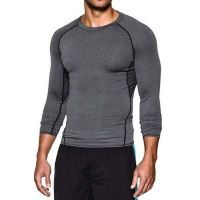 Men's Sports Wear Compression Tights Shirt Long Sleeve Tops GYM Fitnes
