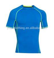 Custom Fitness Apparel Men's GYM Sport T Shirt Factory Young Men T shi