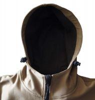 Logo Customized Outdoor Winter Softshell Jacket For Man
