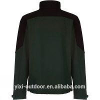 Winter OEM Mens Full-Zipper Softshell Jacket With Hood