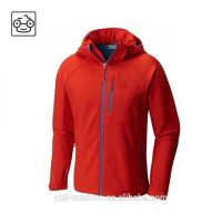 OEM Service Outdoor Mens Hooded Winter Softshell Jacket