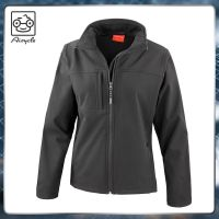 Slim Fit Best Woman Polyester Softshell Jacket Stock Lot