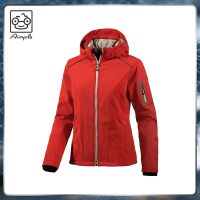 2019 Fashion Softshell Jacket With Waterproof Hooded For Women