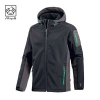 Black Waterproof Hiking Jackets With Hoods For Men