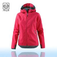 New Design Women's Breathable Softshell Jacket With Hoody