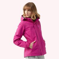 High Quality Women Outdoor Clothing Ladies Windbreaker Hiking Jacket