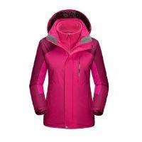 Womens 2 in 1 Set Clothing Winter Parka Windbreaker Coat Outdoor Wa
