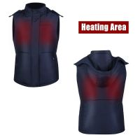 Electric Heated Motorcycle Vest