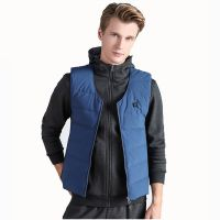 Manufacturer Men's Packable Down Sleeveless Coat Heated Vest 5V